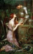 Ламия и рыцарь - Уотерхаус, Джон Уильям