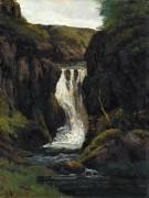 Водопад - Курбе, Гюстав