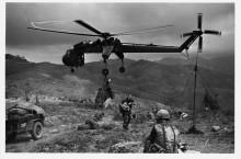 Поставка артиллерии вертолетом - Финчер