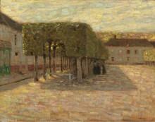 Подстриженные деревья, 1901 - Сиданэ, Анри Эжен Огюстен Ле