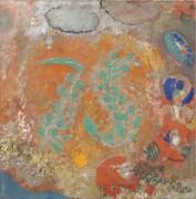 Композиция с цветами - Редон, Одилон