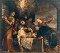 Погребение Христа - Тициан Вечеллио