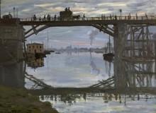 Деревянный мост - Моне, Клод