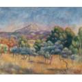 Пейзаж с горой Сен-Виктуар - Ренуар, Пьер Огюст
