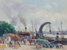 Набережная Берси, 1925 - Люс, Максимильен