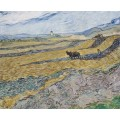 Огороженное поле с пахарем (Enclosed Field with Ploughman), 1889 - Гог, Винсент ван