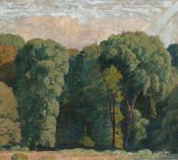 Вход в лес, 1929 - Гарбер, Даниэль