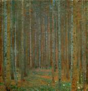 Сосновый лес - Климт, Густав