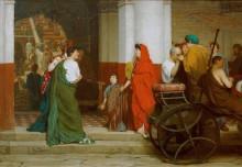 Вход в римский театр - Альма-Тадема, Лоуренс
