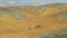 Пахарь в поле - Мартен, Анри Жан Гийом