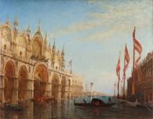 Наводнение в Венеции. Собор Сан-Марко -  Зим, Феликс