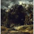 Пейзаж в окрестностях Рима - Бёклин, Арнольд
