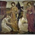 Психея в храме Цереры - Бёрн-Джонс, Эдвард