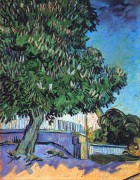 Цветущий каштан (Chestnut Trees in Bloom), 1890 - Гог, Винсент ван