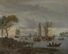 Вид на реку - Шторк, Авраам
