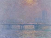 Мост Чаринг Кросс, Темза, 1903 - Моне, Клод