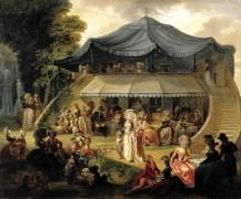 Один день в Колизее - Ватто,  Франсуа Луи Жозеф