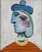 Мария-Тереза в голубом берете - Пикассо, Пабло