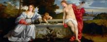 Любовь Небесная и Любовь Земная - Тициан Вечеллио