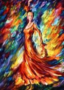 Оранжевое платье - Афремов, Леонид