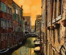 Венеция на закате дня - Борелли, Гвидо (20 век)