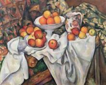 Натюрморт с яблоками и апельсинами - Сезанн, Поль