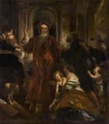 Святой Ив, излечивающий страждущих - Йорданс, Якоб
