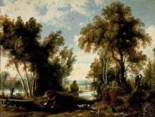 Пейзаж с крестьянами - Вильденс, Ян
