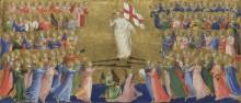 Христос прославившийся в суде небес - Анджелико, Фра