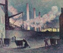 Работа на доменных печах в Куйе, 1903 - Люс, Максимильен