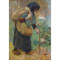 Пожилая крестьянка - Мартен, Анри Жан Гийом