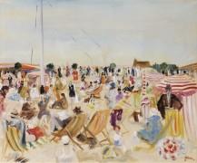 Пляж, 1929 - Адрион, Люсьен