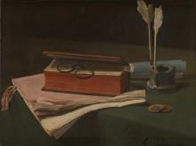 Натюрморт с книгой и документами -  Бонвэн, Франсуа