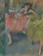 Танцовщицы в зеленой комнате, 1901 - Дега, Эдгар
