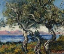 Оливковые деревья, 1938 - Пикабиа, Франсис