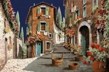 Две улочки. Утро - Борелли, Гвидо (20 век)