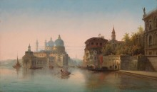 Пейзаж в Венеции - Кауфман, Карл