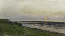 Закат в Виллервиле - Добиньи, Шарль-Франсуа