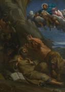 Явление Христа  аббату Святому Антонию - Караччи, Аннибале