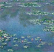 Водяные лилии - Моне, Клод