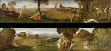 Смерть Полидора и рождение Адониса - Тициан Вечеллио