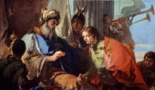 Иосиф получает кольцо фараона - Тьеполо, Джованни Баттиста