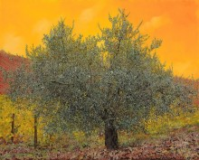 Оливковое дерево среди виноградников - Борелли, Гвидо (20 век)