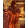 Танцовщица в своей  гримерке, 1879 - Дега, Эдгар