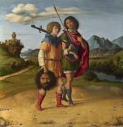 Давид и Джонатан - Конельяно, Чима да