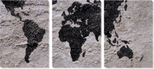 Карта на стене