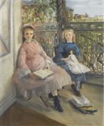 Окно, 1865-70 - Гонсалес, Ева