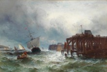 Шторм в море - Вебер, Теодор