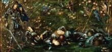 Принц, входящий в лес - Бёрн-Джонс, Эдвард