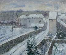Виды Триэля под снегом, 1916 - Луазо, Гюстав